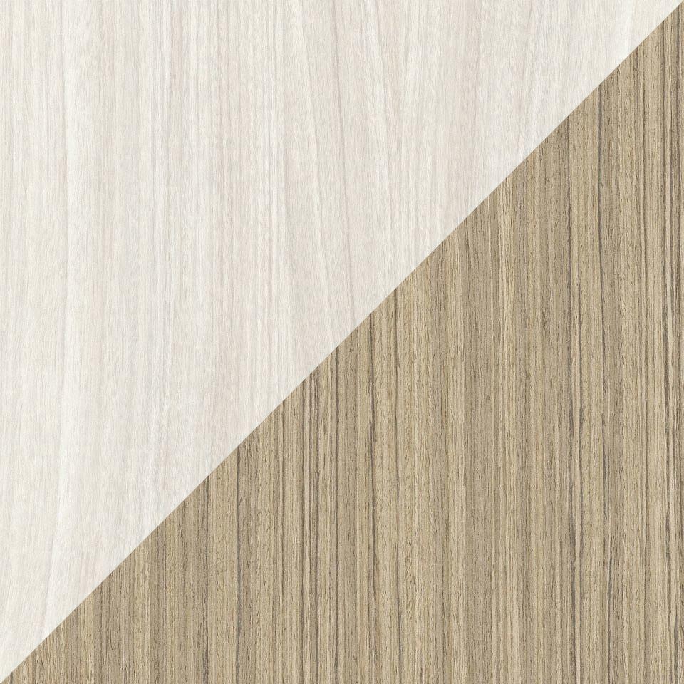 Bleached walnut satra wood